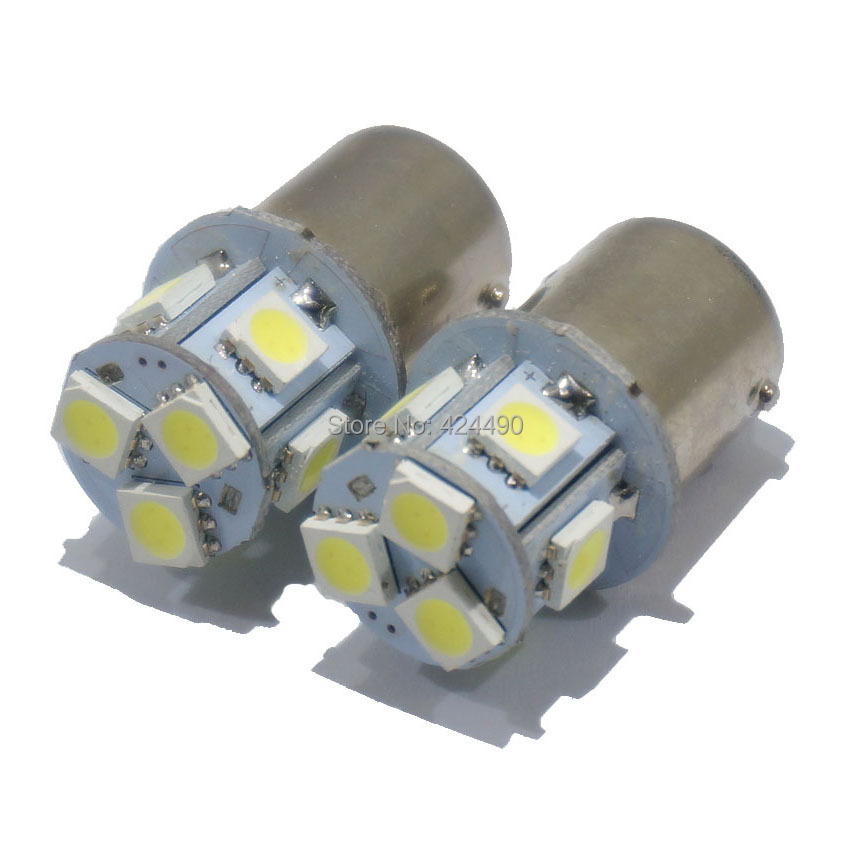 2 car led s25 p21W ba15s 1156 8 smd 5050 8smd 3CHIPS 5050SMD light bulb lamp WHITE RED YELLOW - HK Union Co., Ltd. store