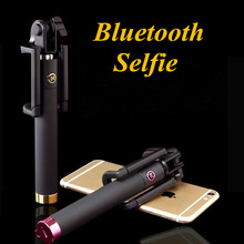 Remote Button Bluetooth Selfie Stick Universal Wireless Para Selfie Monopod For Iphone 6 Groove Bluetooth Selfie For SAMSUNG(China (Mainland))