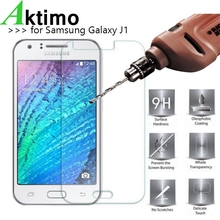 Buy 9H 0.26mm Tempered Glass Samsung Galaxy J1 2015 J100F J100FN J100H/DD J100H/DS J100M J100MU Screen Protector Film Sklo for $1.23 in AliExpress store