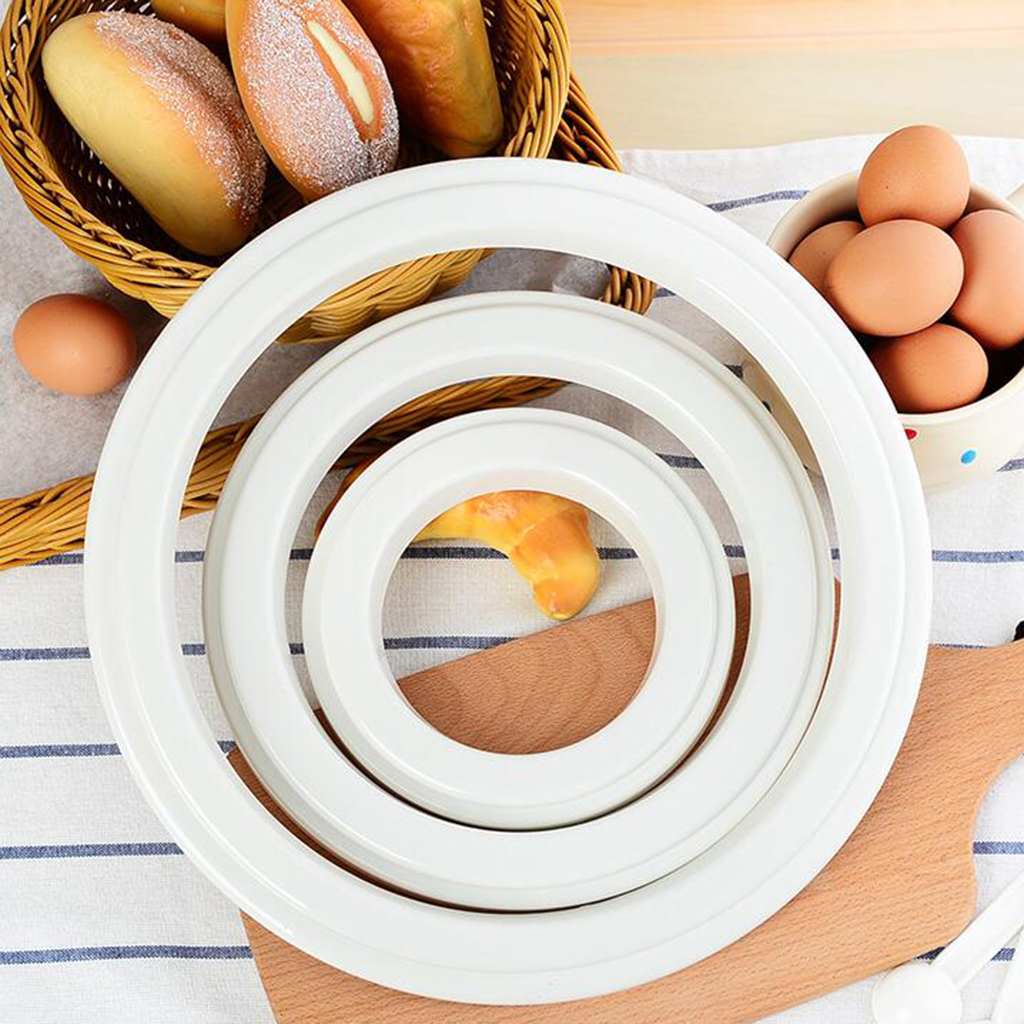 Various Pizza Saucing Ring for Pizza Baking Pan, Commercial Pizza Prep Tool, 6 Sizes Available