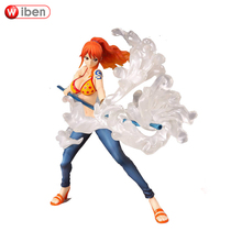 Figuarts Zero foam ball Combat Style Nami Action Figure ONE PIECE Sexy Anime Toy Assembly Collectibles