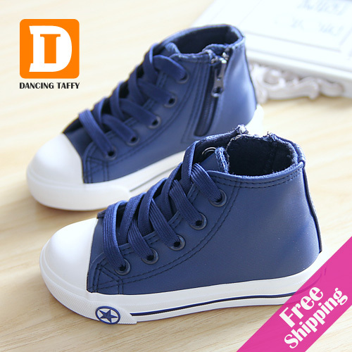 new 2015 autumn fashion children shoes pu leather