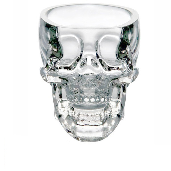 Crystal Skull Pirate Shot Glass Drink Cocktail Beer Cup(China (Mainland))