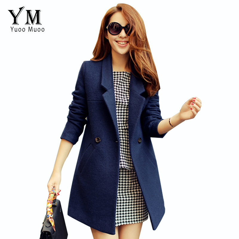 Online Buy Wholesale blue wool winter coat from China blue wool ...