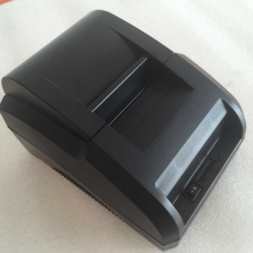 Cheap thermal printer 58mm USB interface 58H pos receipt printer high quality restaurant bill portable printer hot sale