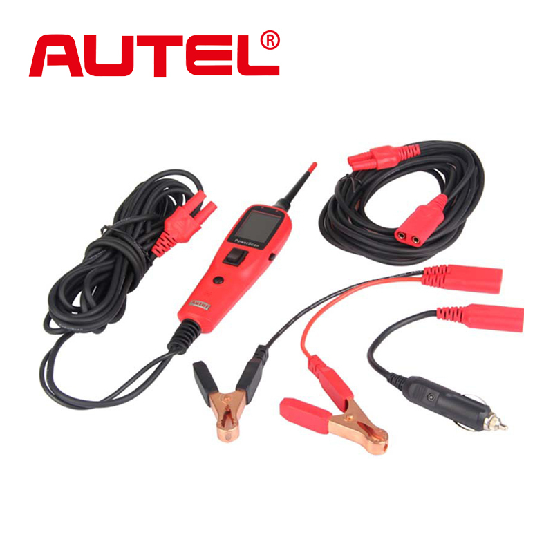 Original Autel PowerScan PS100 Electrical System Diagnositcs tool Circuit Tester battery checker Featuring AVOmeter test light(China (Mainland))