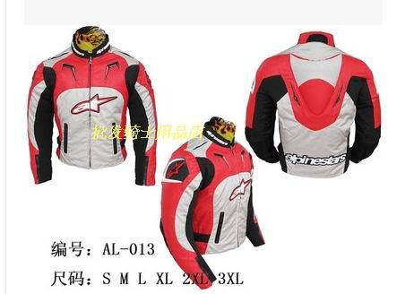 Removable motorcycle racing road PU oxford Red jacket windproof layer guts racing suits motorcycle protective gear for Aprilia(China (Mainland))