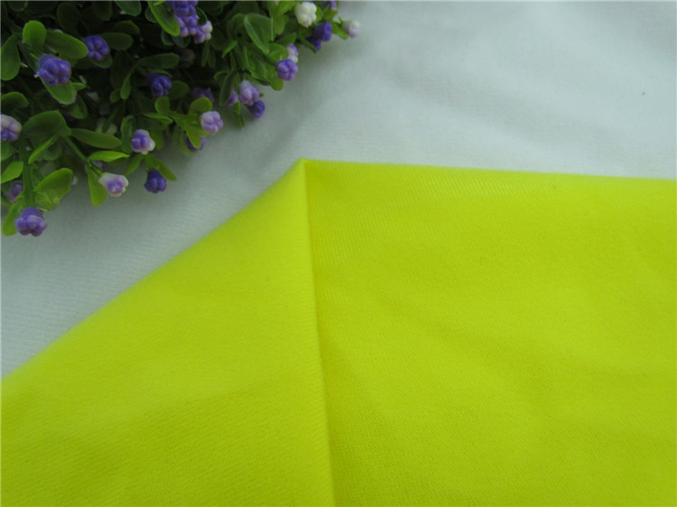 1 pcs Yellow Fleece Fabric for DIY sewing Stuffed toys sofa material Warp knitted brushed tricot Plain Loop velboa velvet(China (Mainland))