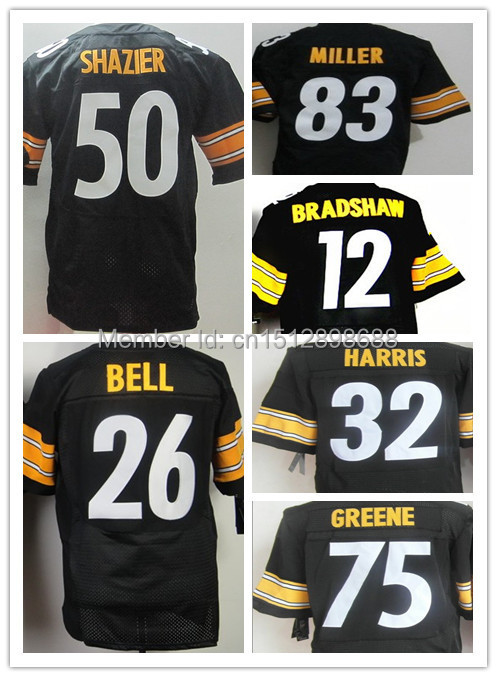 Free shipping American Football Jersey Steeler elite jersey,Best quality,Authentic Jersey,Size M L XL XXL XXXL,Accept Mix Order(China (Mainland))