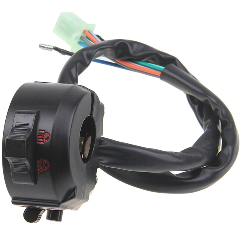 """1PC Universal Handlebar Left ATV Motorcycle Control High/Low Beam Light Turn Signal Horn Switch 7/8"""" Hot Selling(China (Mainland))"""
