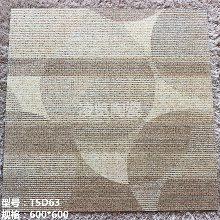 The new 600 * 600 high-grade wear khaki-colored brick carpet tile manufacturers selling stylish atmosphere LL(China (Mainland))