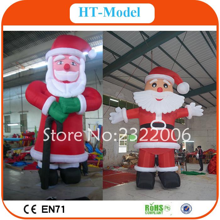 Giant Inflatable Santa Claus for Christmas Decoration,Outdoor Inflatable Giant Santa For Christmas(China (Mainland))