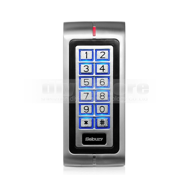 New 125KHz ID Card RFID Reader Keypad Door Lock Access Controller For Home/ Office Safety Use Brand NEW(China (Mainland))