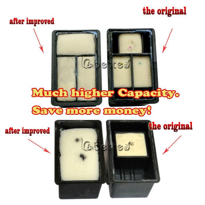 1 Pair 18Y0143 18Y0144 Ink Printer Cartridge for Lexmark 43 44 43XL 44XL X4850 X6570 X7550
