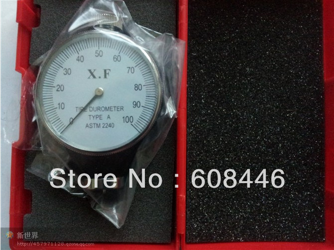 2013 year Hot NEW Shore Type A Rubber Tire Durometer Hardness Tester Meter
