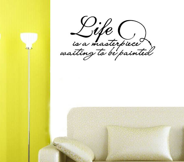 Popular cute quotes buy cheap cute quotes lots from china for Life is good home decor