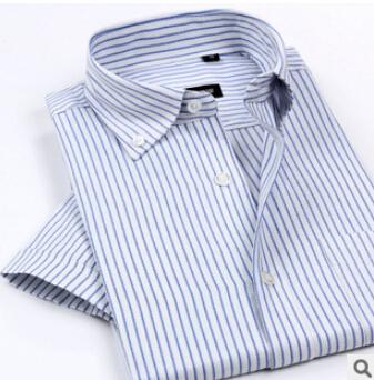 2016 летний новый горячая распродажа мужские оксфорд рубашки Wrinkle тонкой кнопка ...
