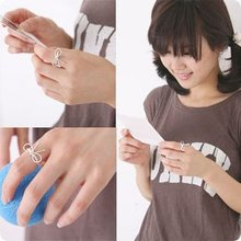 New Arrival fashion ring,Simple sweet and thin bow ring, 50pcs/Lot,Free shipping