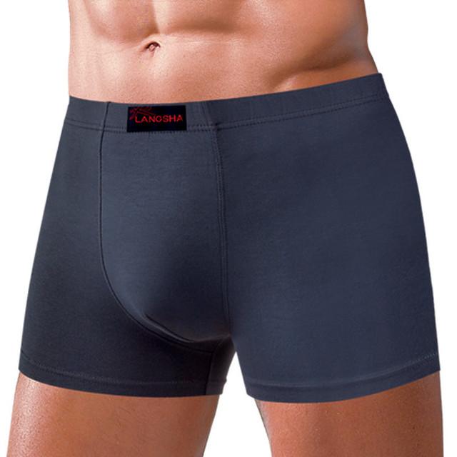 Langsha male boxer panties chromophous male panties 2
