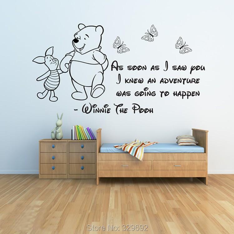 idées des chambres attrayant, chambre winnie fille : Winnie l ourson ...