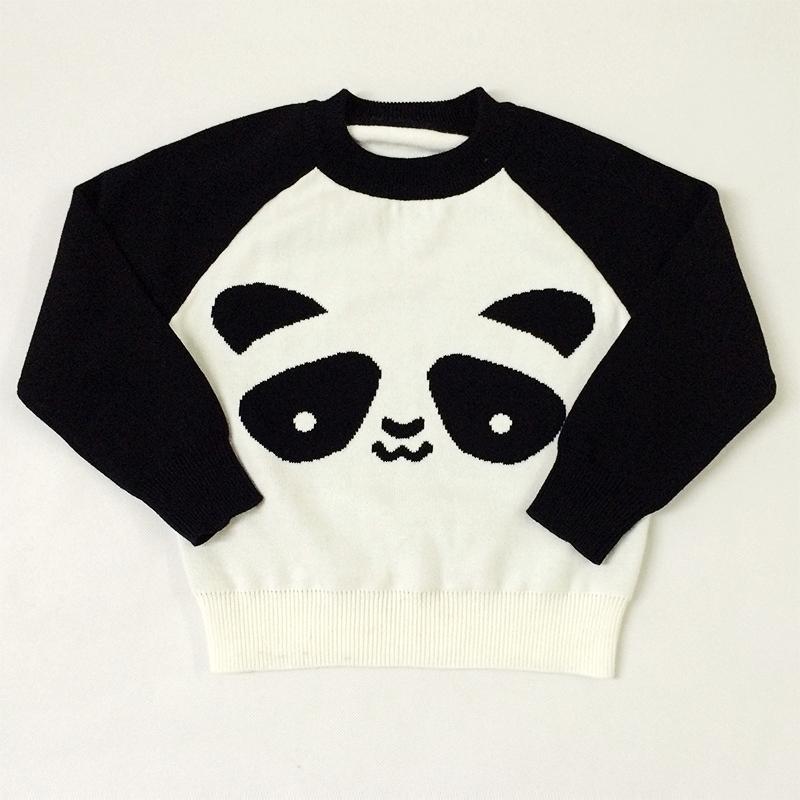Girls &amp; Mother Matching Cute Panda Crochet Knitted Sweater Kids Mom &amp; Daughter Women Family Matching Clothing Boys Knitwear Coat<br><br>Aliexpress