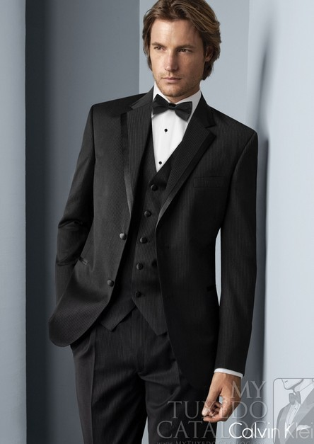 Black Mens Wedding Suits
