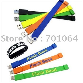 10X 16GB free shipping Mens Bracelets flash cards waterproof usb flash drive