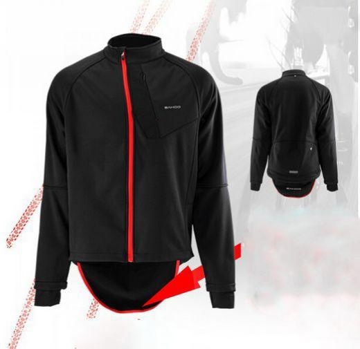 New Sale! SAHOO Cycling Jersey Wear Bike Windbreaker Breathable Jacket Fleece Thermal Winter Jersey  Size M-XXL Drop Shipping