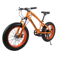 7/21/27 Speed 20/26 Inch Fat Bike / Snow Bike,4.0 Width Wheel,High Carbon Steel Frame,Aluminum Alloy Rim,Front & Rear Disc Brake(China (Mainland))