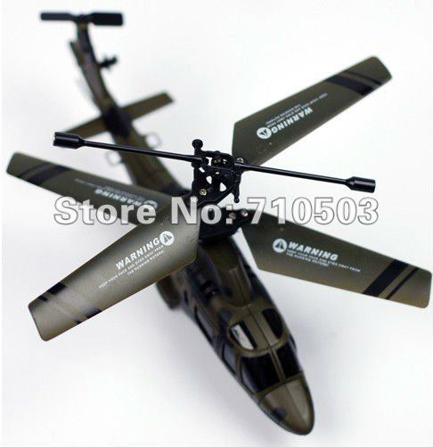 airwolf 3ch r/c helicopter alloy infrared 3ch radio control rc helicopter(China (Mainland))
