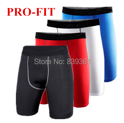 New 2014 Men's Skins Compression Gear Base Layer Tight Sport Shorts Basketball Running Training Shorts Plus Size S-XXL(China (Mainland))
