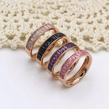Wholesale pink ice rings