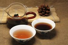 5 pcs Resin Tea Puer Tea Cream shu Pu er Resin chinese tea Ripe Pu er
