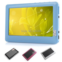 New 4.3 inch TFT Touch Screen 4GB MP3 MP4 MP5 Player FM Radio Video E-book TV Out Including Earphone Russian Free Shipping(China (Mainland))