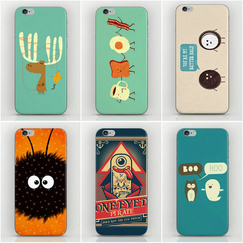 22 Design cartoon figure Style Housing iPhone 5s Cases 5 5g Back Cover Factory Price - Dream Hero Shop store