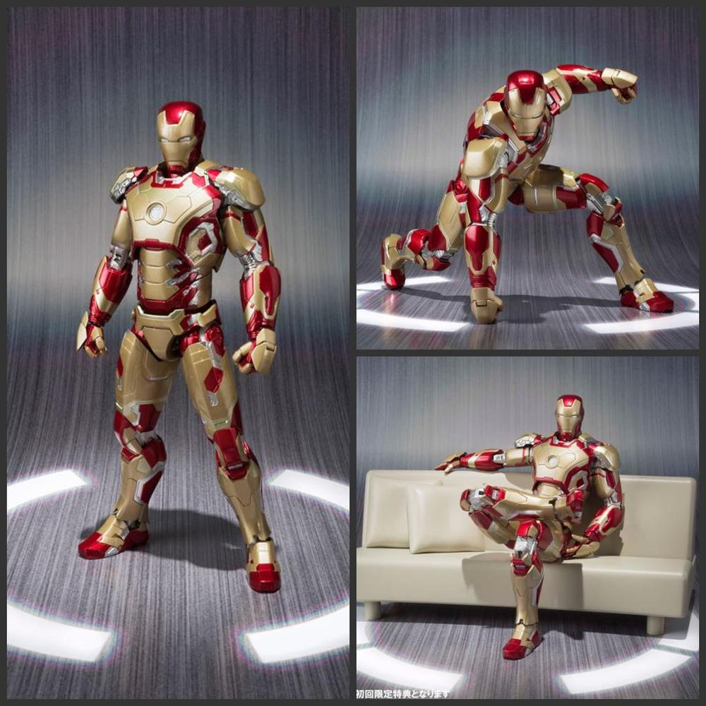 SHFiguarts Iron Man Mark 42 with Sofa PVC Action Figure Collectible Model Toy HRFG517<br><br>Aliexpress