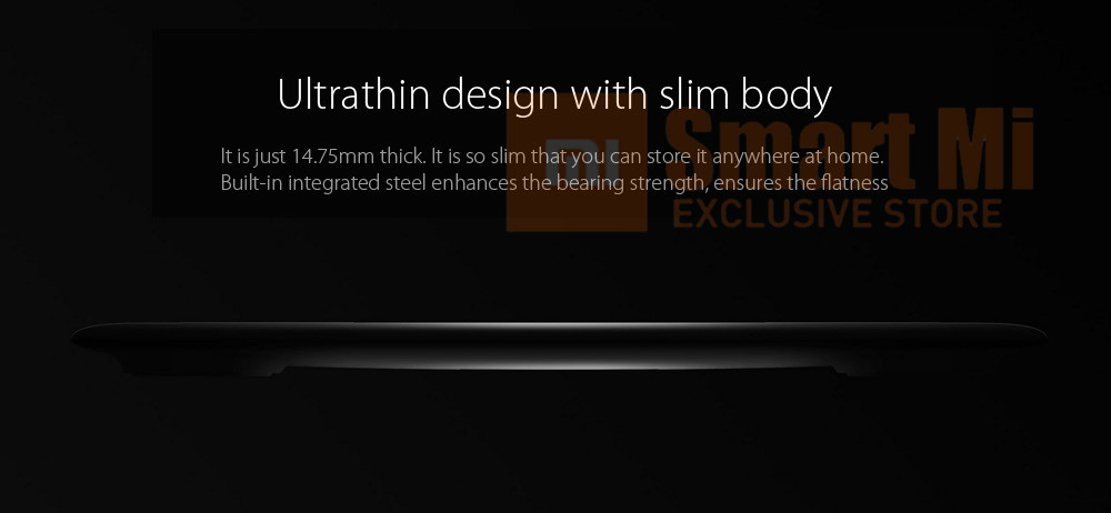 2017 Original Xiaomi Mi Body Fat Scale 2 Bluetooth 4.0 Hidden LED Display Ultra Slim Simple Appearance BMI BMR Visceral Fat Test