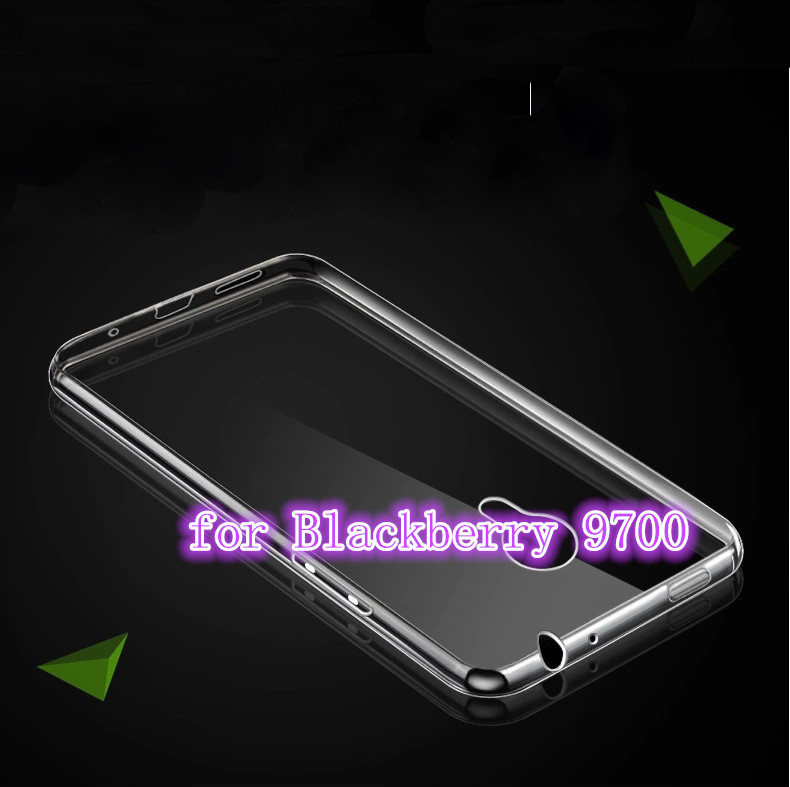 High Quality Transparent Hard Case Plastic Crystal Clear Luxury Protective Cover For Blackberry 9700(China (Mainland))
