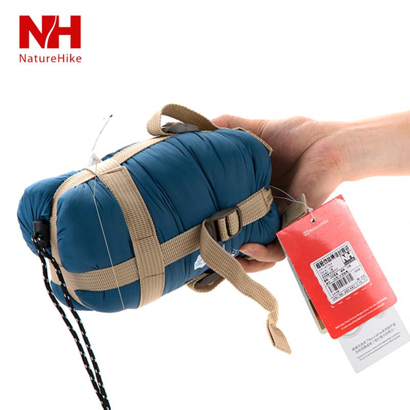 Mini ultra-light sleeping bag autumn and winter outdoor sleeping bag outdoor envelope small adult sleeping bag liner cotton