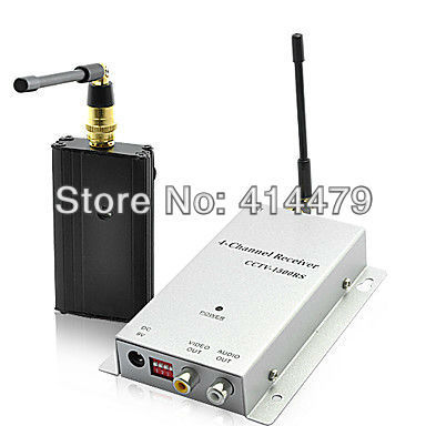 1.2GHz Long Range Wireless Signal Booster and Receiver, Up to 1500 Meters Distance