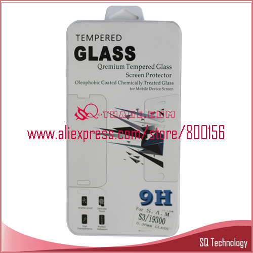 0.26mm Premium Tempered Glass Screen Protector for iPhone 4 4G / 4S LCD Protector Protective Film(China (Mainland))