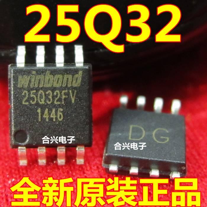 Free shipping 20pcs/lot 32 MB FLASH W25Q32BVSSIG W25X32VSSIG memory original authentic(China (Mainland))