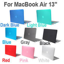"""Matte Hard Shell Case Keyboard Protector Cover for MacBook Air 13"""" US Version Layout(China (Mainland))"""