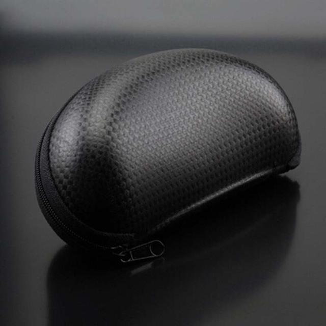 Молния жёсткая черный полиуретан кожа солнечные очки очки сумка мешок очки коробка