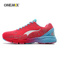 ONEMIX Woman Running Shoes For Women Olympic Athletic Trainers Red Zapatillas Sports Shoe Outdoor Walking Sneakers