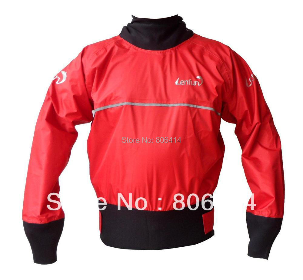 UNISEX new Whitewater kayak cags semi-dry top, paddle tops,sailing tops,paddle rafting canoeing jacket(China (Mainland))