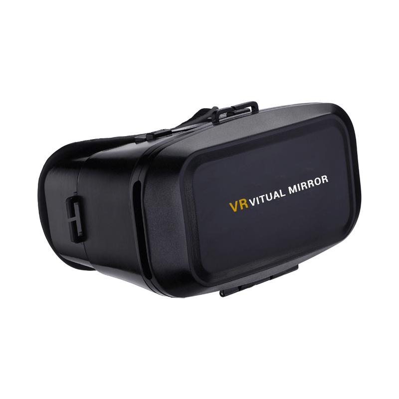 VR Arruda Small Wasp 3D Magic Mirror Headset Virtual Reality VR BOX ARRUDA Google Cardboard 3D Glasses for 3.5-6 inch Smartphone(China (Mainland))