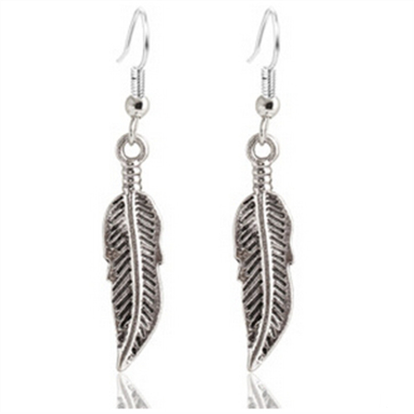 Cheap Jewelry pen ntes largos Vintage brincos leaves earrings wholesale cha