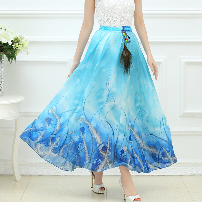 high quality 2016 summer bohemian skirts maxi
