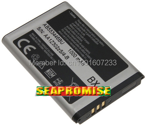 Гаджет  Retail AB553446BU ( AB553446BA  AB553446BU  AB553446BC) mobile phone battery for samsung A837 E2652 C3300 E2232 None Бытовая электроника